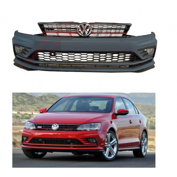 VW JETTA GLİ BODY KIT ÖN TAMPON+PANJUR+MARŞPİYEL FULL SET 2015+